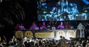 Fiesta noventeros en La Riviera