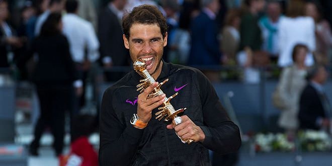 Rafa Nadal Mutua Madrid Open