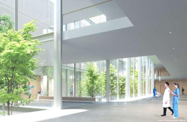 nuevo hospital la paz calle