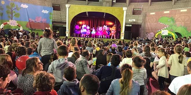 Peppa Pig Torrejon de Ardoz Show Familia