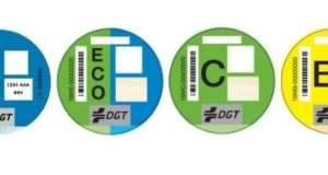 distintivos ambiental DGT