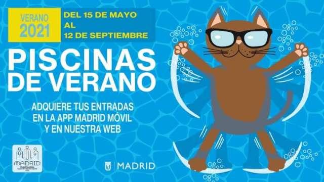piscinas municipales verano 2021 cartel