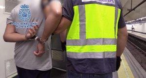 Detenido un hombre - Policía Nacional
