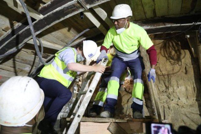 excavación túnel bailen