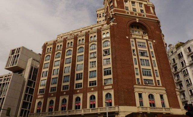 Palacio de la Prensa fachada