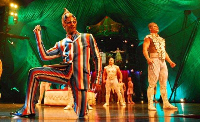 cirque du soleil personajes