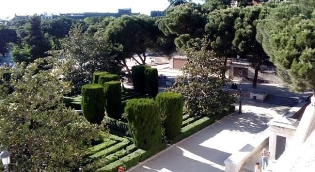 jardines sabatini