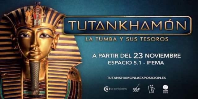 Exposición Tutankhamón IFEMA Madrid