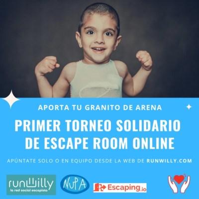 NUPA escape room online solidario