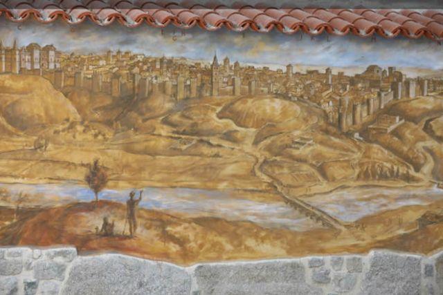 Retrato de la muralla cristiana de Madrid
