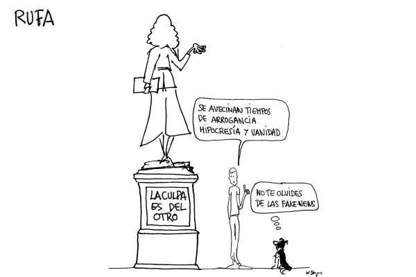 estatuas tira cómica