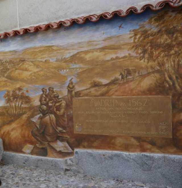 muralla cristiana lienzo