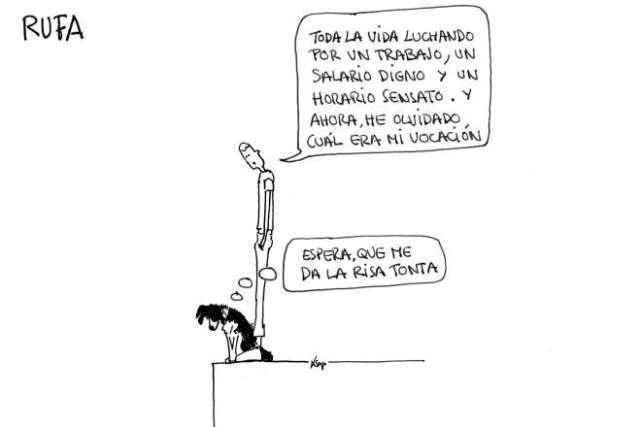 vocación tira cómica