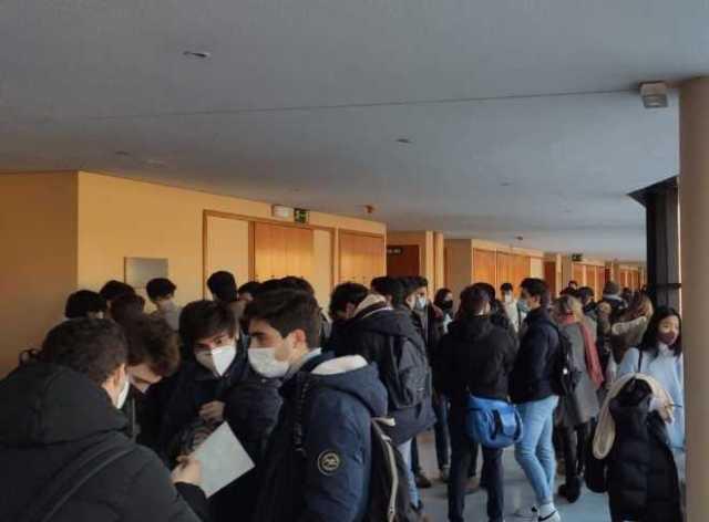 Exámenes presenciales universidades de Madrid