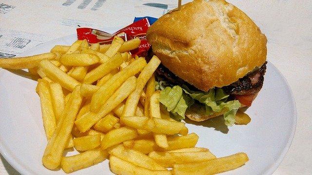 hamburguesa alimentación