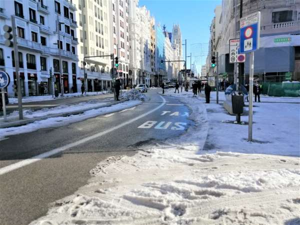 autobuses emt gratuitos nieve