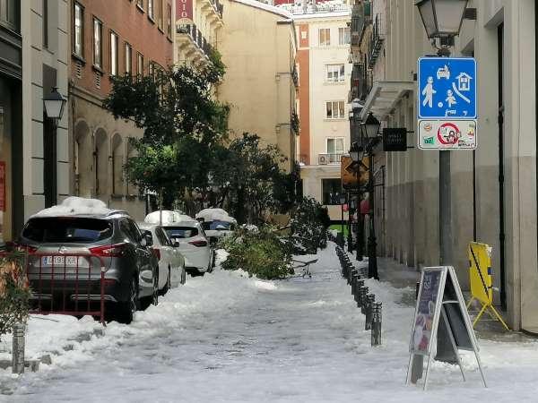 nieve madrid centro