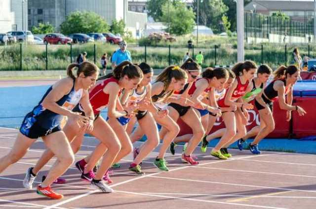 Categoría femenina en el Campeonato de España de Campo a Través