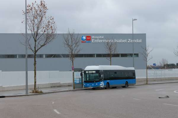 hospital isabel zendal servicio especial