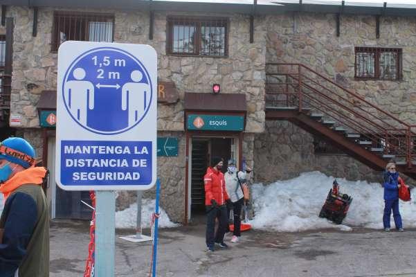 procotolo covid esquiar madrid valdesqui