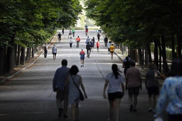 Paseos desescalada Madrid