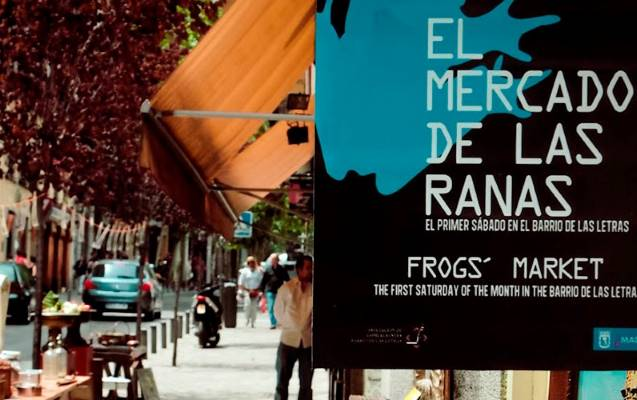 mercado ranas barrio letras