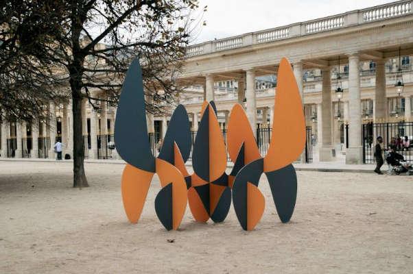 Exposición esculturas en calles Alejandro Vega
