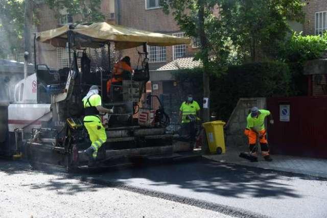 operación asfalto 2021 trabajos