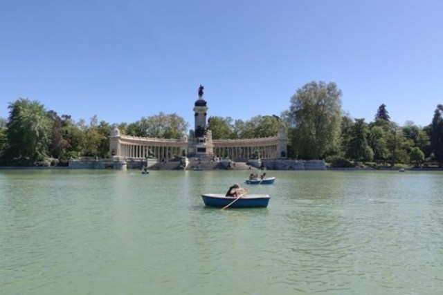 El Retiro. Barcas Madrid