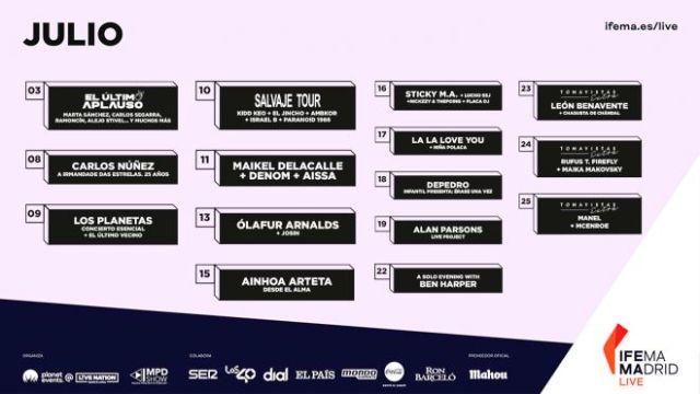 Cartel IFEMA Madrid Live
