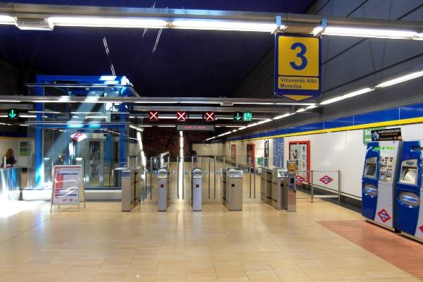 Línea 3 obras metro