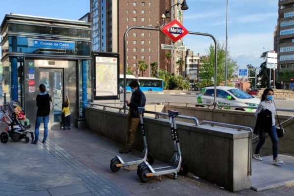 Línea 6 obras metro