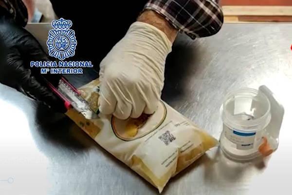 800 kilogramos cocaína en piñas