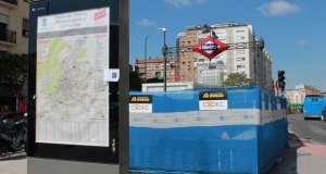 metro cuatro caminos obras acceso intercambiador