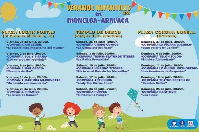 fiestas verano Moncloa-aravaca
