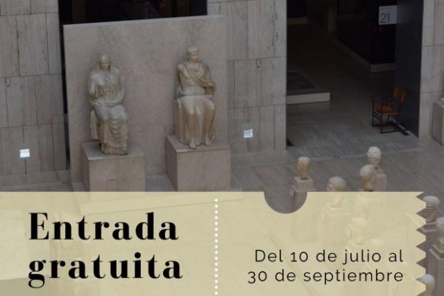 Museo Arqueológico Nacional museos gratis verano madrid