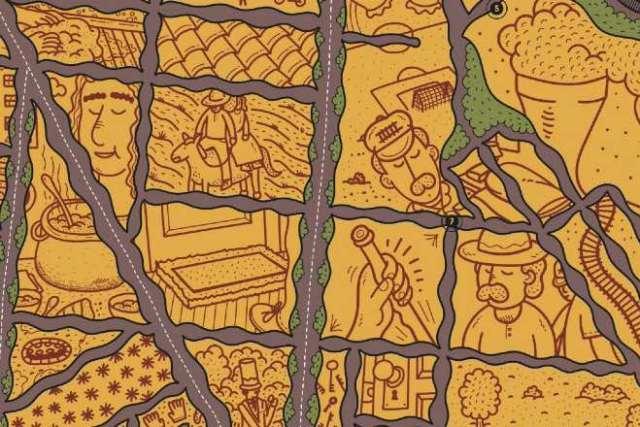 mapa rutas delicias