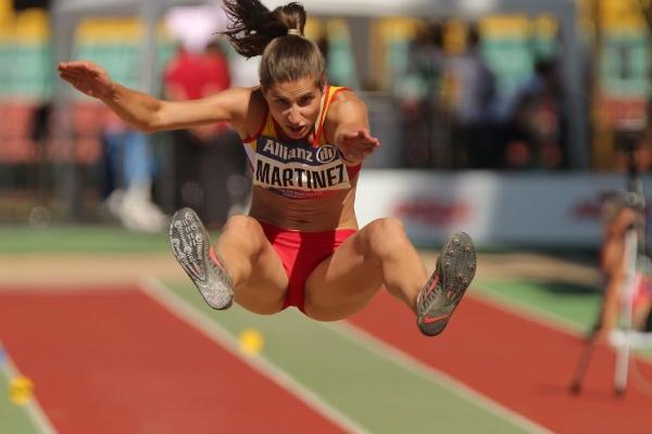 Sara Martínez salto de longitud
