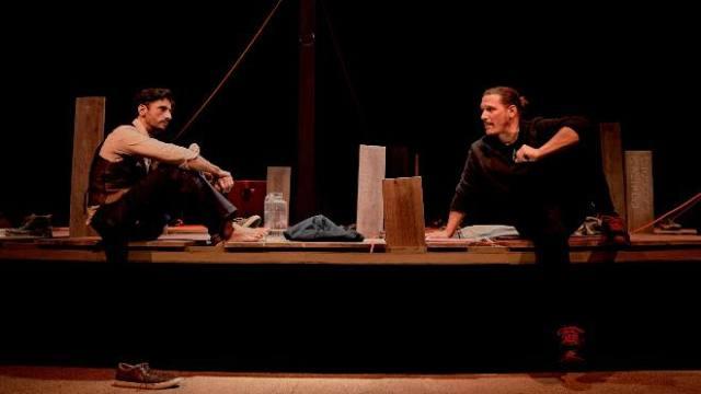 Juan Diego Botto y Sergio Peris-Mencheta en 'Una noche sin luna'
