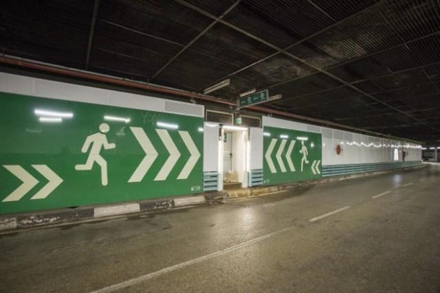 obras túneles Azca