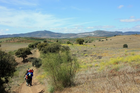 La Cañá - embalse de Villalba de Los Barros
