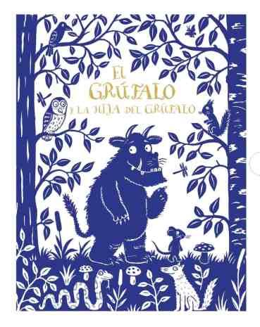cuentos infantiles: el grúfalo y la hija del grúfalo