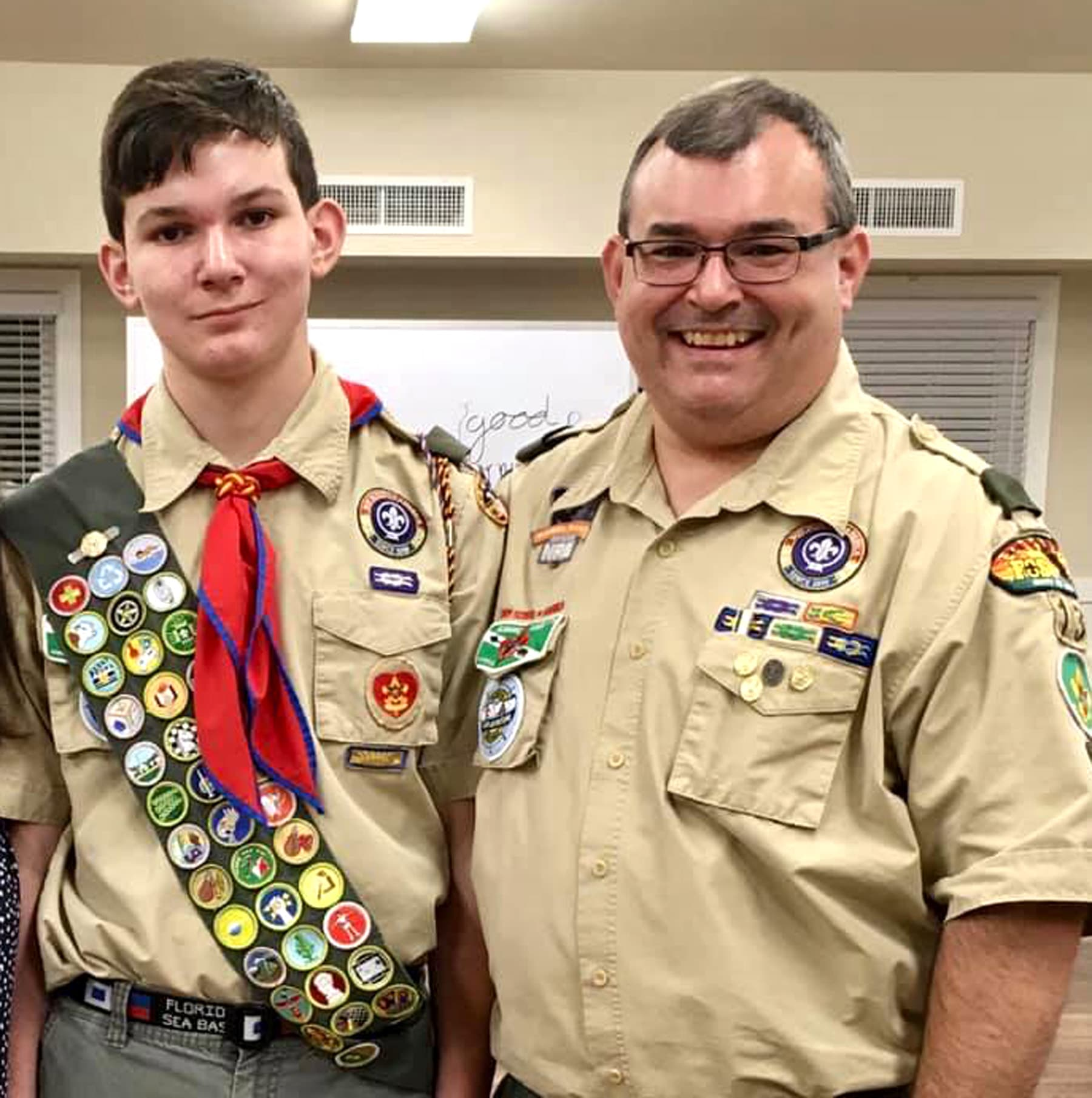 Troop 13 Scout Ryan Rouse Earns Eagle Rank Completes 41
