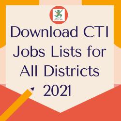 Download CTI jobs lists 2021