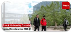 Funded Scholarships 2020-21