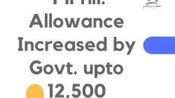 MPhil. Allowance Increased by Govt. upto 12,500