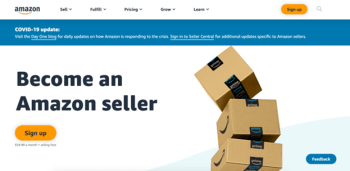Open Amazon Sellers Account from Pakistan in 5 Easy Steps 01