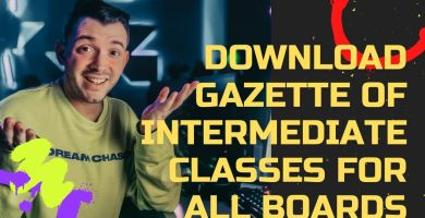 Download Gazette of Intermediate Classes for All Boards