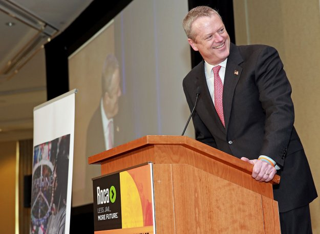 Governor Baker credited the relationship between Roca and the Commonwealth as the largest Pay for Success project in the U.S.