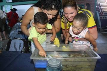 Los niños fueron los consentidos en El Mundo Latino Family Festival.